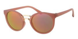 Sunglasses - D&D - Retro - Dark Pink - 0 till 4 years