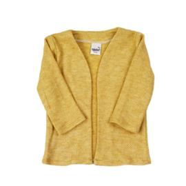 Lang Vest - Pique - Ocre - Handmade