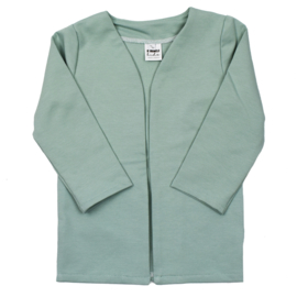 Long Cardigan | Minty Green | Also with hoodie option