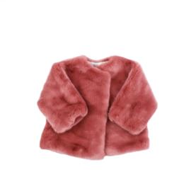 Jacket - Faux Fur - Rose