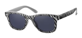 Zonnebril - D&D - Fashionista - Zebra Black - 0 tot 4 jaar