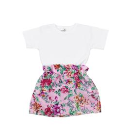 Basic Shirt | Rokje Floral Pink