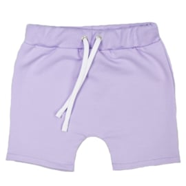 Shorts with laces | Purple Rose | Handmade