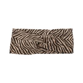 Headband Twist | Sandy Zebra | Handmade