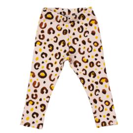 Legging | Leopard Baby Rose | Handmade