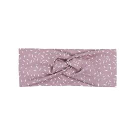 Headband Twist | Sprinkles Old Rose | Handmade