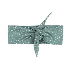 Headband | Sprinkles Chalk Green | Handmade
