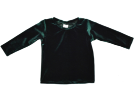 Long Sleeve | Velvet | Emerald Green | Handmade