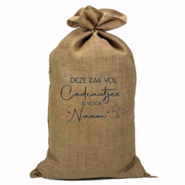 Jute zak | Een zak vol cadeautjes