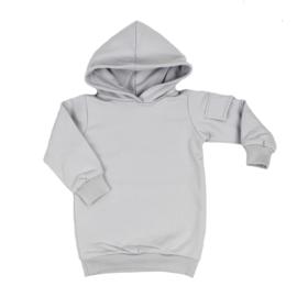 Baggy Hoodie Dress met Zijzakje | Sleet | Handmade