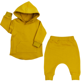 Hoodie Suit | Mellow Yellow | Handmade