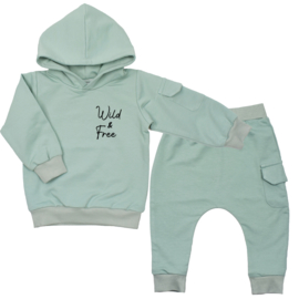 Hoodie suit with cargopocket | Wild & Free | 7 Colours