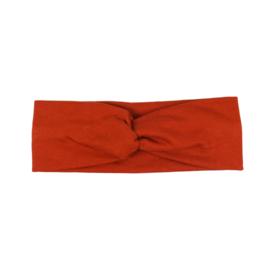 Headband Twist | Fired Brick | Handmade