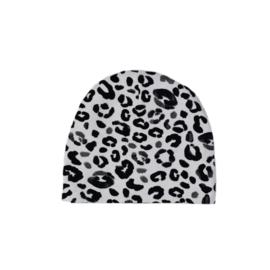 SS | Beanie | Leopard Grey  | M