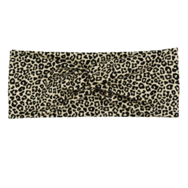 Headband Twist | Baby Cheetah | Handmade