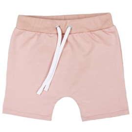 Shorts with laces | Blush | Handmade