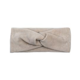 Headband Twist | Mini Rib | Sand | Handmade