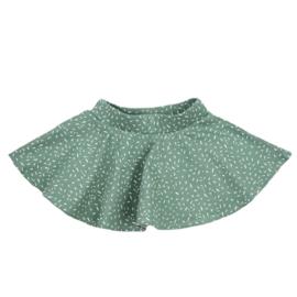 Cirkelrokje | Sprinkles Chalk Green | Handmade