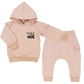 Hoodie suit with cargopocket | Rebel + Name | 7 Colours