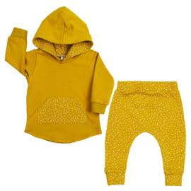 Hoodie Suit | Mellow Yellow & Sprinkles | Handmade