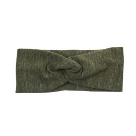 Headband Twist | Military Olive | Handmade