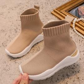 PRE-ORDER Sock Sneakers | Beige