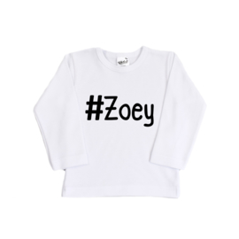 Shirt | Hashtag | Gepersonaliseerd