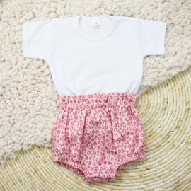 Shirt Basic | Bloomer | Leopard Pink