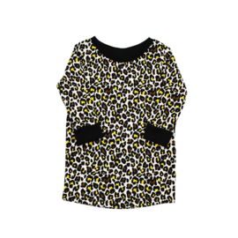 T-Shirt Dress | Jaguar | Handmade
