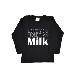 Valentijn shirt | Love you more than Milk