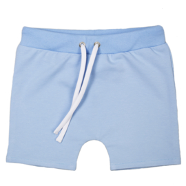 Shorts with laces | Powder Blue | Handmade