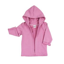 Hoodie vest | Cassis | Handmade