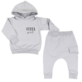 Hoodie Suit With Side Pocket| Rebel Girl | 6 Colours