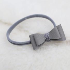 Headband | Leather Grey