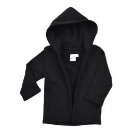 Hoodie vest | Black | Handmade