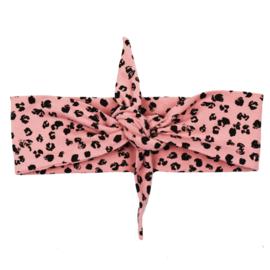 Headband | Leopard Rose | Handmade