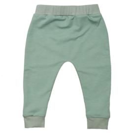 Slim fit pants | Minty Green | Handmade