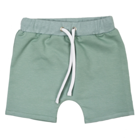 Shorts with laces | Minty Green | Handmade