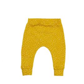 Slim fit broekje | Sprinkles Ochre Yellow | Handmade