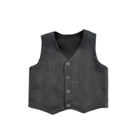 Gilet | Checkered Dark Grey | 50 | SS