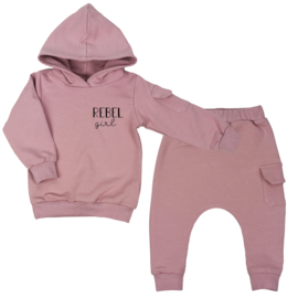 Hoodie suit with cargopocket | Rebel Girl | 7 Colours