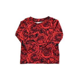 Longsleeve | Roses | Handmade