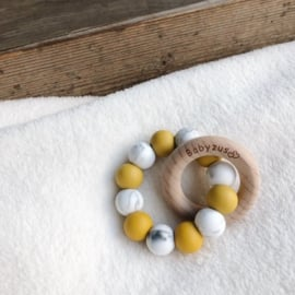 Teething Ring | Ochre Yellow