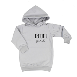 Baggy Hoodie Dress | Rebel Girl | 6 Kleuren