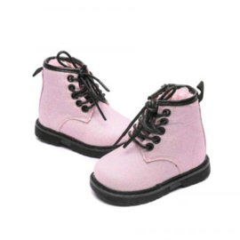 Laceboots | Glitter Pink