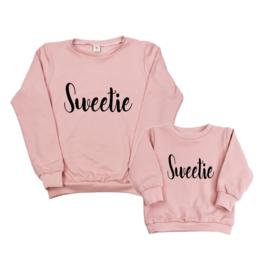 Twinning set - dames sweater & baby sweater - Sweetie