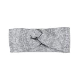 Headband Twist | Cable | Grey | Handmade