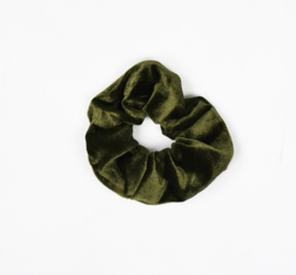 Scrunchie | Olive Green | Handmade