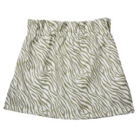 Paperbag Skirt | Cotton Zebra | Handmade