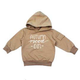 Hoodie met klepzakje | Autumn Mood on | 4 Kleuren